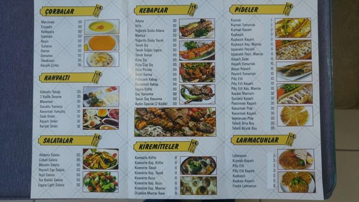aydin-pide-menu