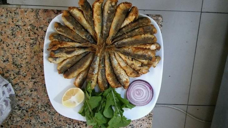 Hamsi tava İzmir Balıkçı Talip