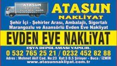İzmir Evden Eve Nakliyat Atasun