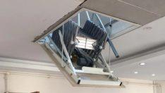 Motorlu Çatı Merdiveni