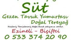 İzmir Günlük Süt – Ezineli – Biçiftçi