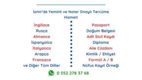 İzmir Konak Tercüme Bürosu