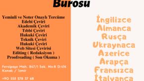 İzmir Almanca Noter Yeminli Tercüme